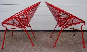 Red Patio Furniture Pinterest by Images Of Mid Century Chairs Mid Century Outdoor Furniture