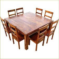 Furniture Impressive Square Wood Dining Tables 21 Simple Design Table Artcercedillacom