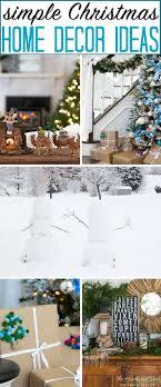 Simple Classic Christmas Home Decor Ideas Holiday Tour