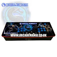 Mortal Kombat Arcade Machine Uk by 2 Player Mania Board New 2017 Design Jamma Retropie Setups