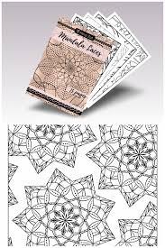 Adult Coloring Book Mandalas Advanced Coloring Book Mandala Laces