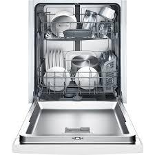 Bosch 24 100 Series White Built In Dishwasher