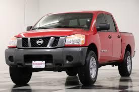 100 Used Trucks For Sale In Mo 2008 Nissan Titan XE Crew Cab 4X4 Red Alert Metallic Truck