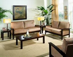Living Room Wood Furniture Innovative With Photo Of Painting New In Ideas
