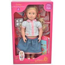Striped Tshirt Skirt Set For 18 American Girl Our Ge For Sale