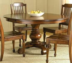 Round Dining Tables With Leaves Set Leaf Modern Table Room Square Pub Style
