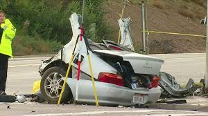 Crash Near Chula Vista Rips Car In Half, Killing 4 People - Guldjian