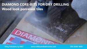 how to drill or cut holes in porcelain and stone tiles youtube