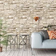 6m wohnzimmer küche bad wasserdichte wand aufkleber home decor abnehmbare vinyl pvc ziegel stein selbst klebe tapete