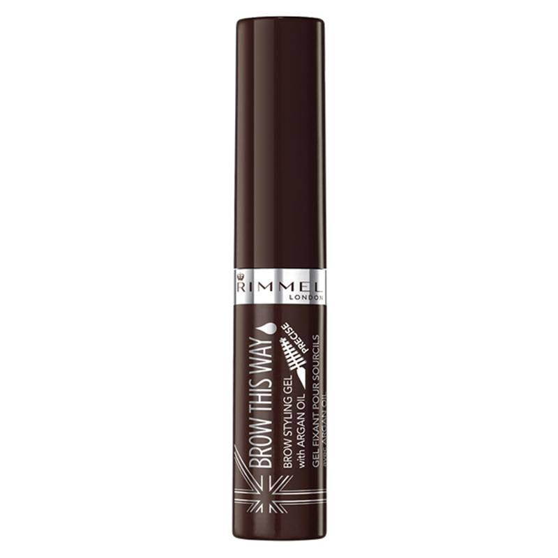 Rimmel Brow This Way Eyebrow Gel - 003 Dark Brown, 5ml