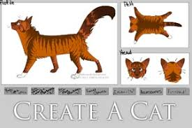 cat creator create a cat warrior cat maker