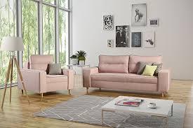 sofagarnitur couchgarnitur 3 1 sofa sessel farbe wählbar wohnzimmer