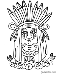 Totem Pole Symbols Coloring Pages Indiens Colouring Pages