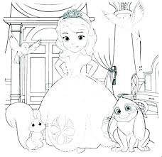 Princess Coloring Pages Printables Free Printable The