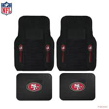 100 Heavy Duty Truck Floor Mats Details About New NFL San Francisco 49ers Car Front Rear Rubber