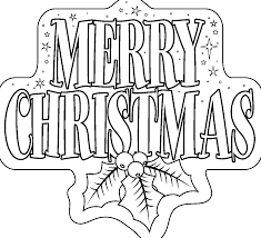 Merry Christmas Coloring Pages Printables For Kids Adults Free At