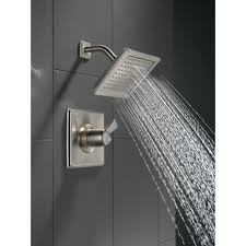 Delta Dryden Faucet Stainless by Shower Head Extension Bar Delta Dryden Diverter Faucet With Lever