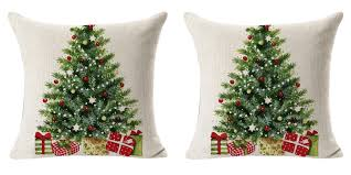 Dillards Christmas Decorations 2013 by Christmas Tree Pillow Cover Only 1 25 Shipped Freebies2deals