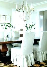 Pottery Barn Chair Covers Parson Slipcovers S Dining