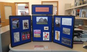 Marketing Business Display Board Grant Project U Nicole Helregel Batty Halloween Bulletin Idea Myclassroomideascom