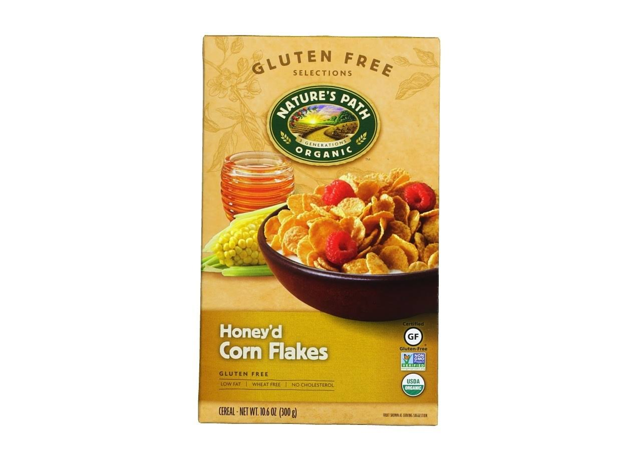 Nature's Path Organic Gluten Free Honey'd Corn Flakes Cereal