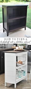 bookshelf kitchen island tutorials kitchens and house
