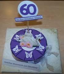 details zu geldgeschenk 50 60 70 geburtstag kleine torte geschenkverpackung neu