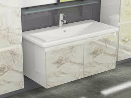 möbel badmöbel set weiss marmor optik hochglanz