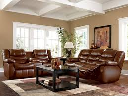 pictures of living rooms with brown furniture what color goes with