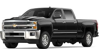 2019 Silverado 2500HD & 3500HD Heavy Duty Trucks