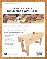 Canadian Woodworking Magazine Pdf by The Minimalist Woodworker Essential Tools And Smart Shop Ideas