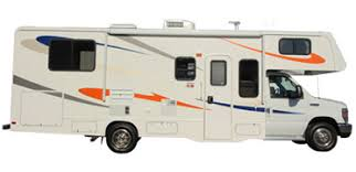 Class C RV Rental MHA Maxi Motorhome Exterior