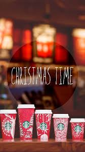 Christmas Starbucks Wallpaper Background For IPhone And Android