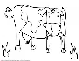 Coloriage Vache 1 Vaches Animaux Vaches Pinterest Vache Dessin
