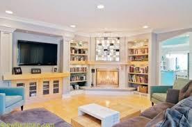 Living Room Corner Fireplace Decor Decorating Ideas