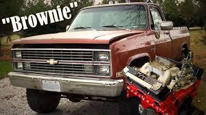 100 1983 Chevrolet Truck Chevy K10 4x4 Mud Brownie YouTube