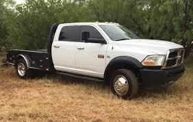 100 Dodge Dually Trucks For Sale 2012 4500 4x4 67 Cummins Diesel Flatbed