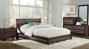 Rooms To Go Queen Bedroom Sets by Harmony Place Brown 6 Pc Queen Platform Bedroom Queen Bedroom