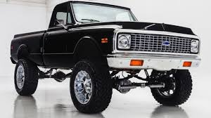 100 1972 Chevy Truck 4x4 K10 Off Road Black YouTube