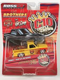 100 Brothers Classic Truck Parts MAISTO COMMEMORATIVE TRIPLE CROWN 87 CHEVY 1 OF 100 Boss Company