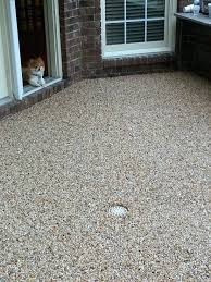 epoxy pebble patio floorpatio floor ideas uk concrete covering