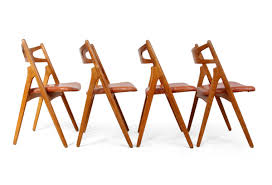 Press Back Chairs Oak by Oak Saw Back Chairs By Hans J Wegner For A L Johansen U0026 Søn