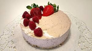 cremige erdbeer joghurt torte ohne zucker
