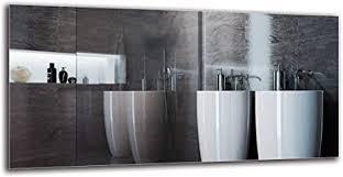 arttor spiegel ohne rahmen dekorative wandspiegel groß und klein bad dekoration und wohnzimmer deko verschiedene formen haus möbel