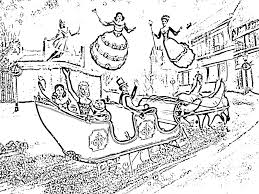 Barbie In A Christmas Carol Coloring Pages 6