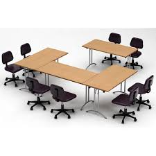 TeamWORK Tables 4-Piece Natural Beech Conference Tables Meeting ... Office Star Tuxedo Conference Table Mad Man Mund Offices To Go Alba R8ws Conference Table Glbr8wsdesmetun Small Bullet L Desk Espresso 12 Foot Solispatio Ligna Rectangular Set Reviews Wayfair Unique Fniture Cuba Ding Mayline Sorrento 8 Sc8esp Generation By Knoll Ergonomic Chair Amazoncom Gof 10 Ft 120w X 48d 295h Cherry Skill Halcon