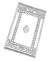 Rug Coloring Page Usa Printables Early American Society Pages Colonial