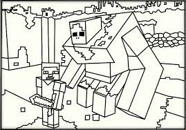 Minecraft Coloring Books For Kids