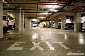 How To Exit An Underground Parking Garage