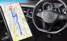 Driving Route Direction Map: Live Earth Tracking - Android Apps On ...